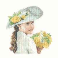 click here to view larger image of Alice - Miniature Elegance - 27ct (counted cross stitch kit)
