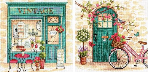click here to view larger image of Afternoon In Provence (counted cross stitch kit)