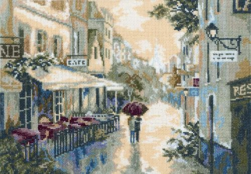 click here to view larger image of After The Rain (counted cross stitch kit)