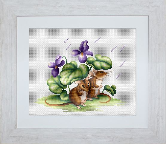 click here to view larger image of Mice (counted cross stitch kit)