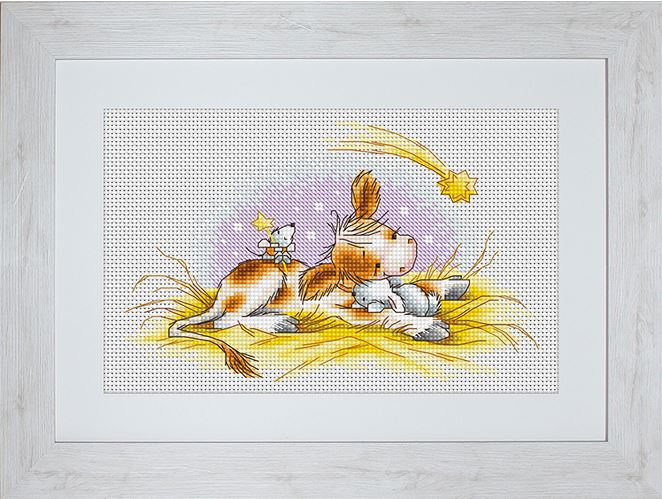 click here to view larger image of Christmas Story, A (counted cross stitch kit)
