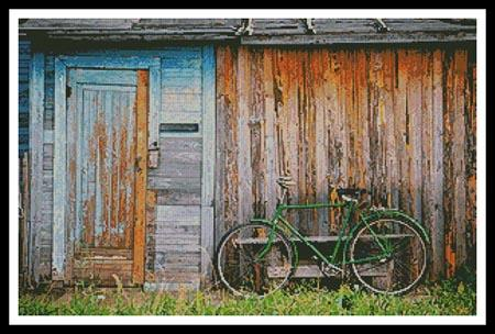 click here to view larger image of Barn and Bike (chart)