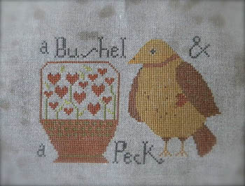 click here to view larger image of Bushel and a Peck (chart)