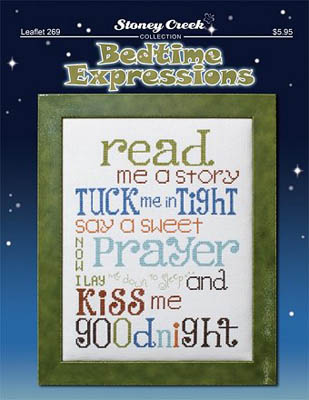click here to view larger image of Bedtime Expressions (chart)