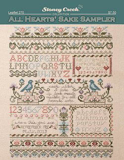 click here to view larger image of All Hearts Sake Sampler (chart)