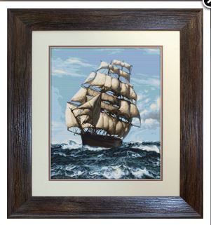 click here to view larger image of Ship (counted cross stitch kit)