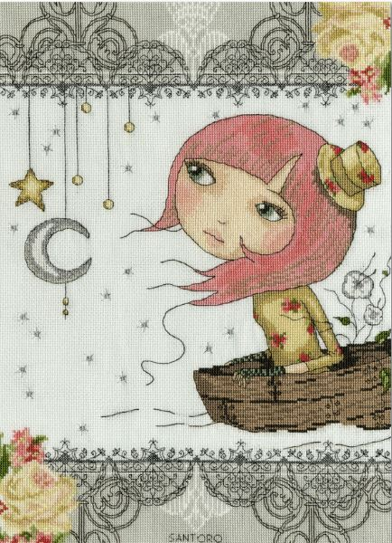 click here to view larger image of Adrift (counted cross stitch kit)