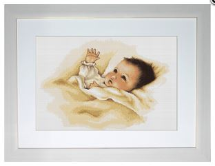 click here to view larger image of Baby (counted cross stitch kit)
