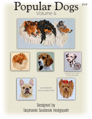 click here to view larger image of Popular Dogs Volume 6 (chart)