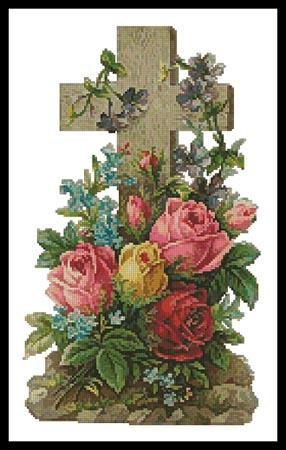 click here to view larger image of Cross of Flowers 2 (chart)