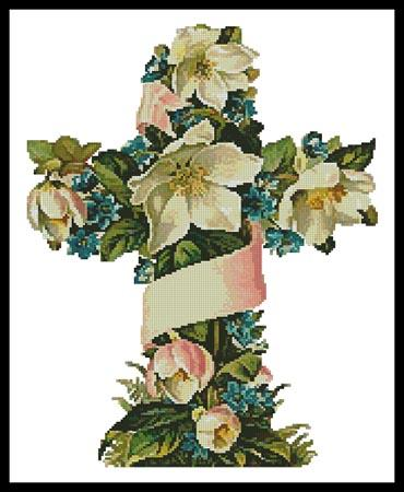 click here to view larger image of Cross of Flowers 1 (chart)