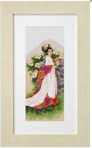 click here to view larger image of Melody of Soul (counted cross stitch kit)