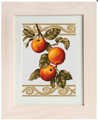click here to view larger image of Apple Twig (counted cross stitch kit)