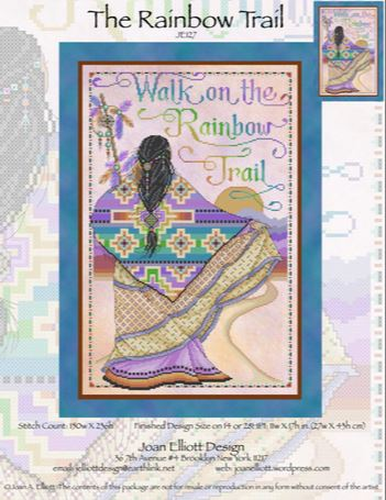 click here to view larger image of Rainbow Trail (chart)