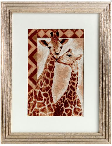 click here to view larger image of Giraffe (counted cross stitch kit)