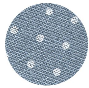 click here to view larger image of Belfast 32ct Petit Point Blue with White Points (Zweigart Belfast Linen)