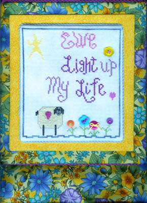 click here to view larger image of Ewe Light Up My Life (includes embellishments) (chart with charms/buttons)