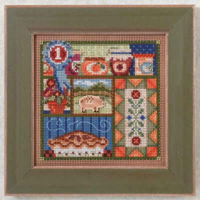 click here to view larger image of County Fair (counted cross stitch kit)