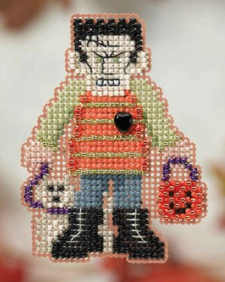 click here to view larger image of Monster Mash - Autumn Harvest series (counted cross stitch kit)