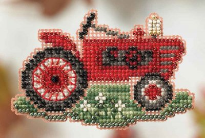 click here to view larger image of Grandpa's Tractor - Autumn Harvest Series (counted cross stitch kit)