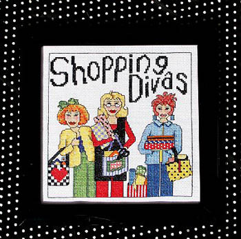 click here to view larger image of Shopping Divas (chart)