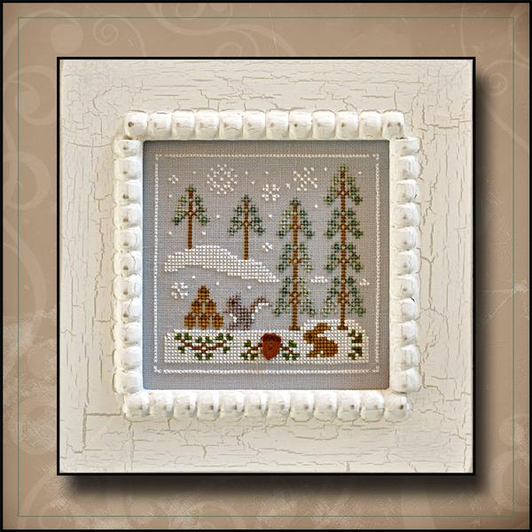 click here to view larger image of Snowy Friends - Frosty Forest Series #4 (chart)