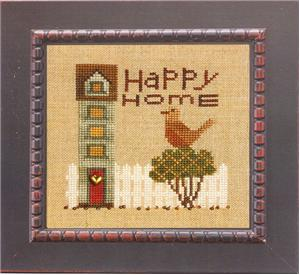 click here to view larger image of Happy Home (Everyday) w/ Charms (chart with charms/buttons)
