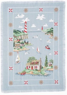 click here to view larger image of Lighthouse Cove Afghan (chart)