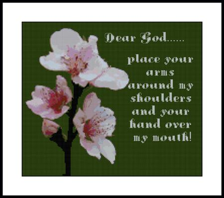 click here to view larger image of Dear God Sampler (chart)