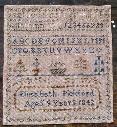 click here to view larger image of Elizabeth Pickford 1842 (chart)