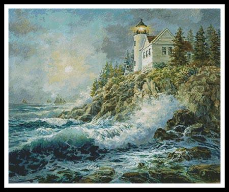 click here to view larger image of Bass Harbor Lighthouse  (Nicky Boehme) (chart)
