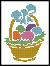click here to view larger image of Little Easter Basket  (Joni Prittie) (chart)