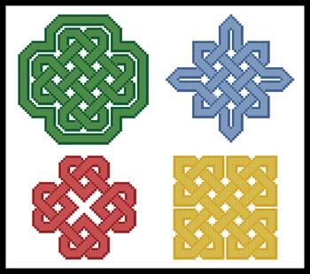 click here to view larger image of Celtic Patterns (chart)