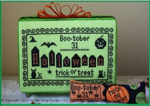 click here to view larger image of Boo-Tober (chart)