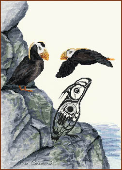 click here to view larger image of Tufted Puffin (chart)