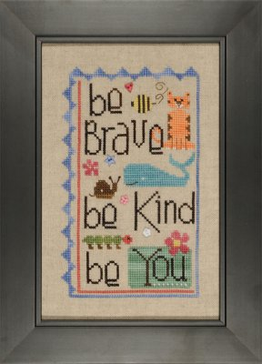 click here to view larger image of Be You (chart with charms/buttons)