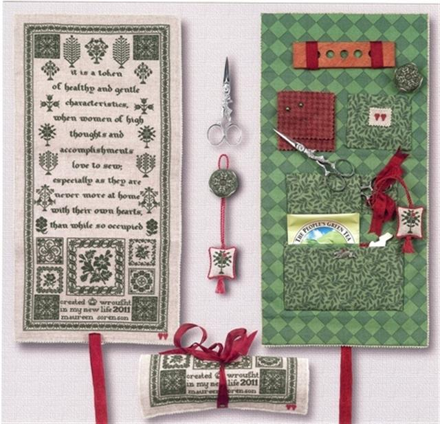 click here to view larger image of Splendor XXI A Needlewomans Minder (counted cross stitch kit)