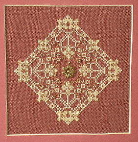 click here to view larger image of Antique Lace Flower 1 (chart)