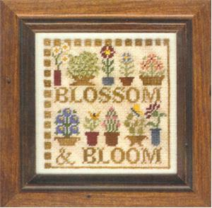 click here to view larger image of Blossom and Bloom (chart with charms/buttons)
