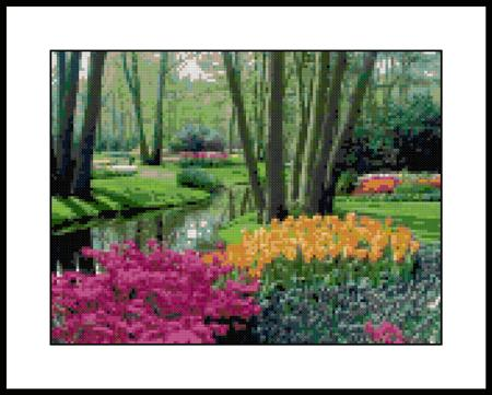 click here to view larger image of Breathtaking Garden (chart)