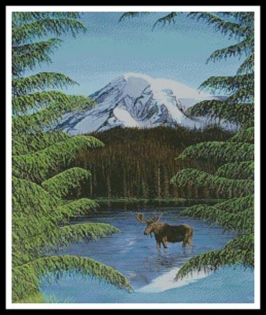 click here to view larger image of Moose Near Mt Rainier (chart)