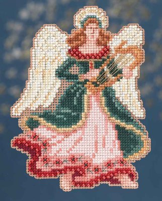 click here to view larger image of Gabrielle - Angel Trilogy (counted cross stitch kit)