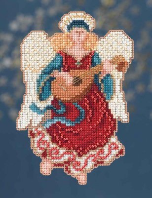 click here to view larger image of Angelina - Angel Trilogy (counted cross stitch kit)