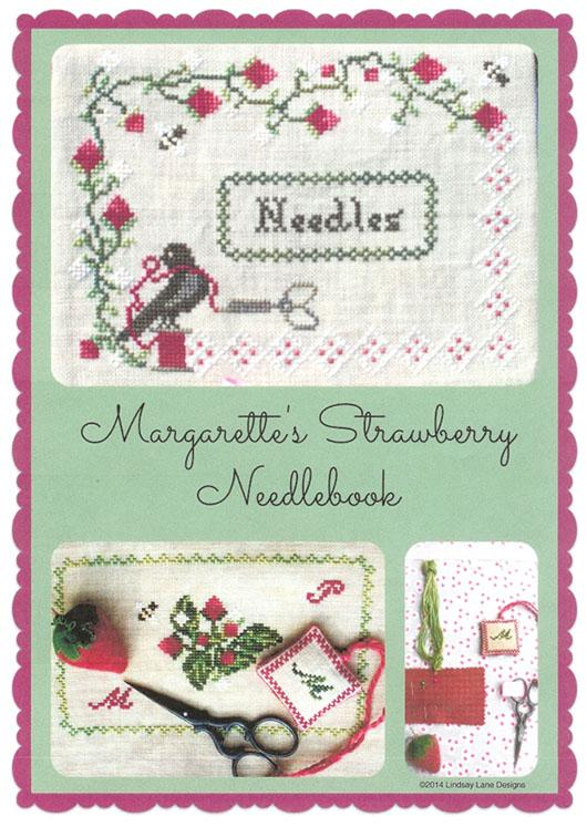 click here to view larger image of Margarette's Strawberry Needlebook (chart)