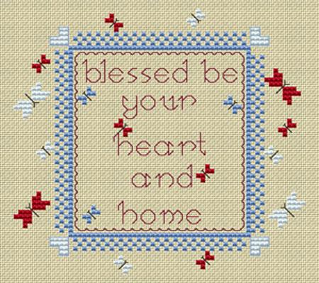click here to view larger image of Bless This House (chart)