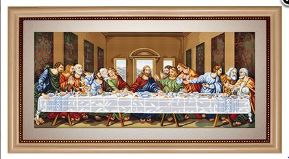 click here to view larger image of Last Supper (Petit Point Kits)
