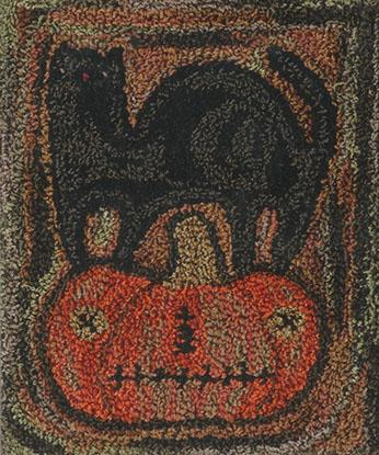 click here to view larger image of Primitive Halloween - Punchneedle (Punchneedle)