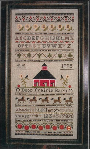 click here to view larger image of Door Prairie Barn Sampler (chart)