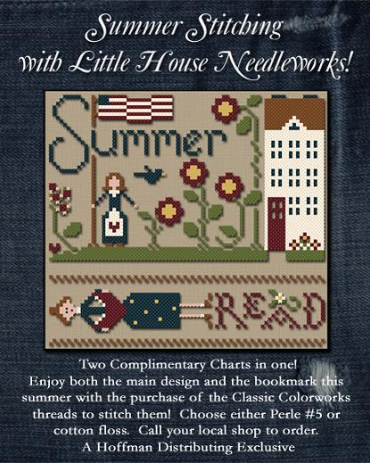 click here to view larger image of Summer Stitching - Cotton Thread Pack (w/ free graph) (fiber)