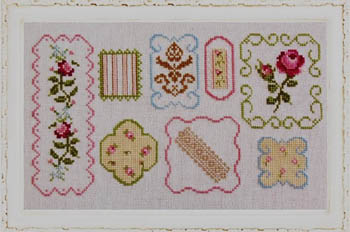 click here to view larger image of Shabby Sampler (chart)